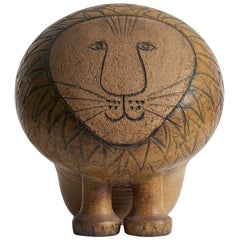 Large Lisa Larson Lion