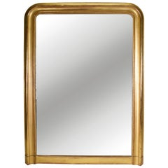 19th Century Louis Philippe Gold Gilt Mirror