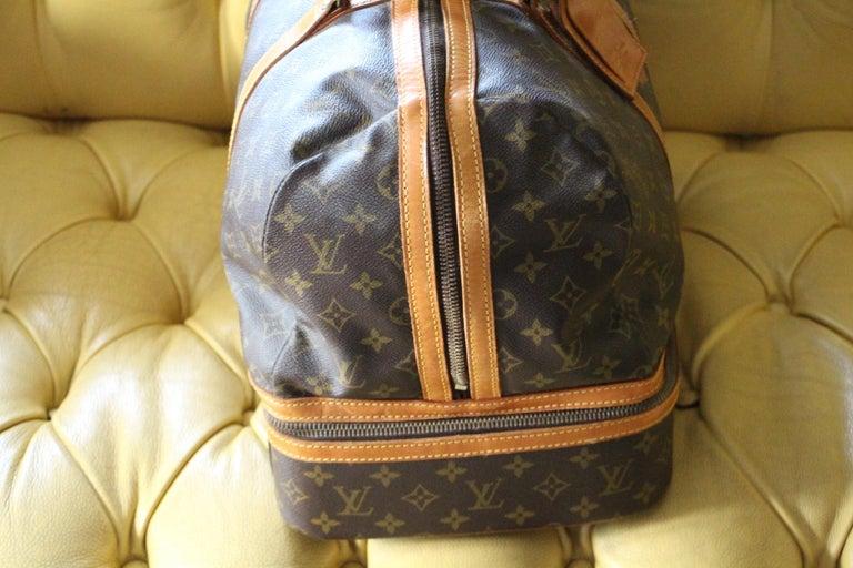 Large Louis Vuitton Bag, Large Louis Vuitton Duffle Bag In Good Condition For Sale In Saint-ouen, FR