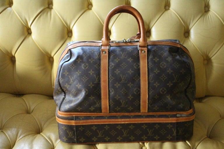 Women's or Men's Large Louis Vuitton Bag, Large Louis Vuitton Duffle Bag For Sale