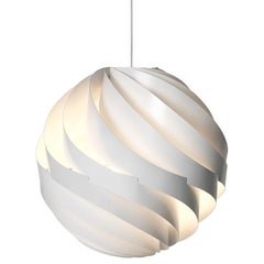 Large Louis Weisdorf 'Turbo' Pendant Lamp