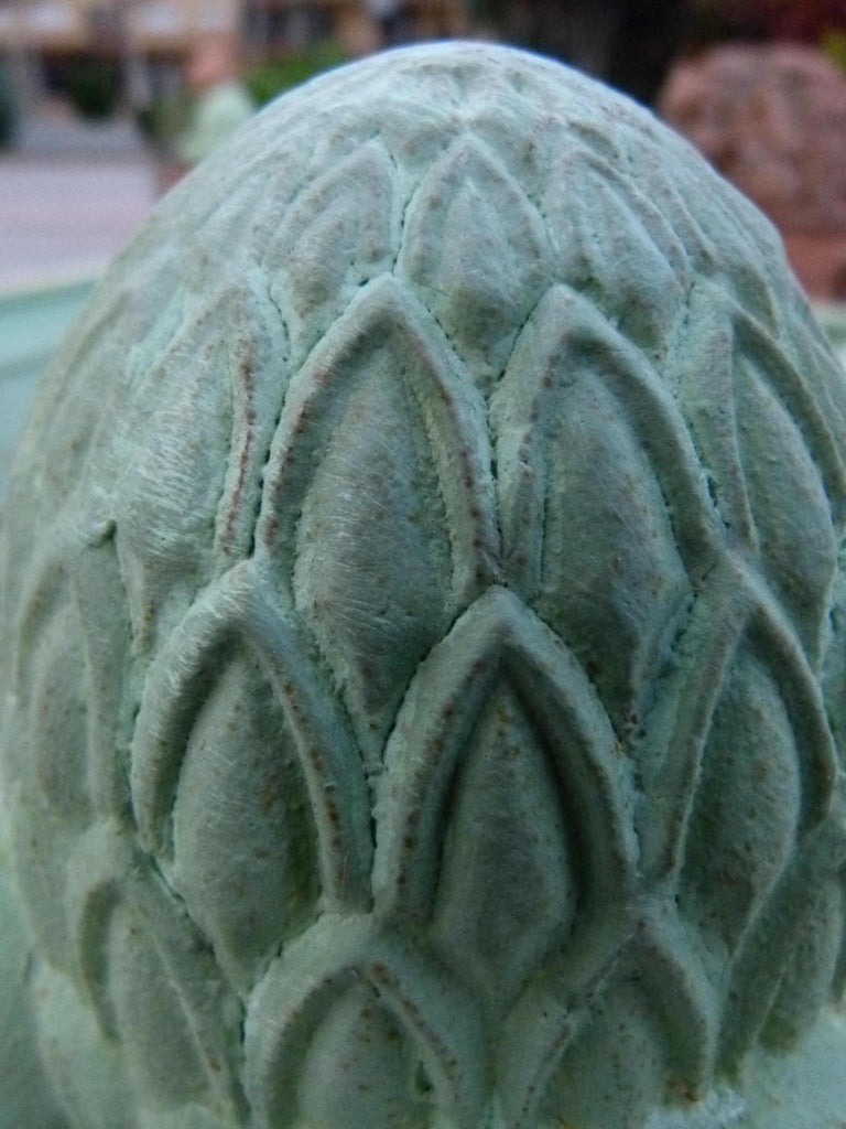 18th Century and Earlier Large Louis XV Style Cast Iron Jardinières For Sale