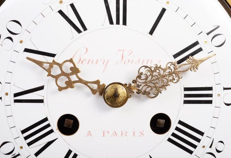 Large Louis XVI Style Ormolu Mantel Clock, 19th Century For Sale 6