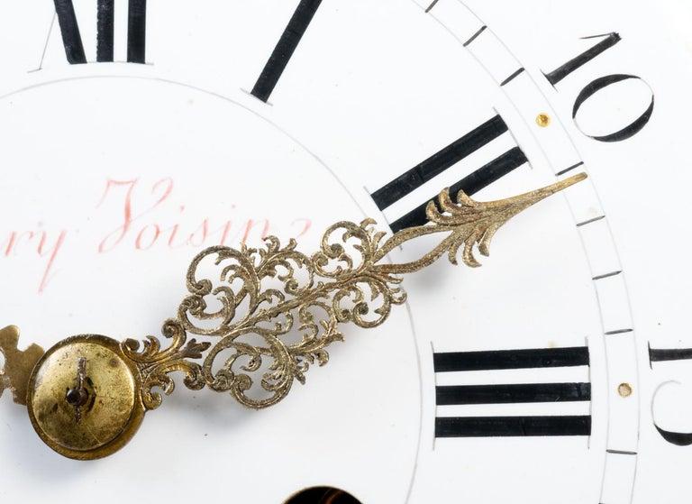 Large Louis XVI Style Ormolu Mantel Clock, 19th Century For Sale 5
