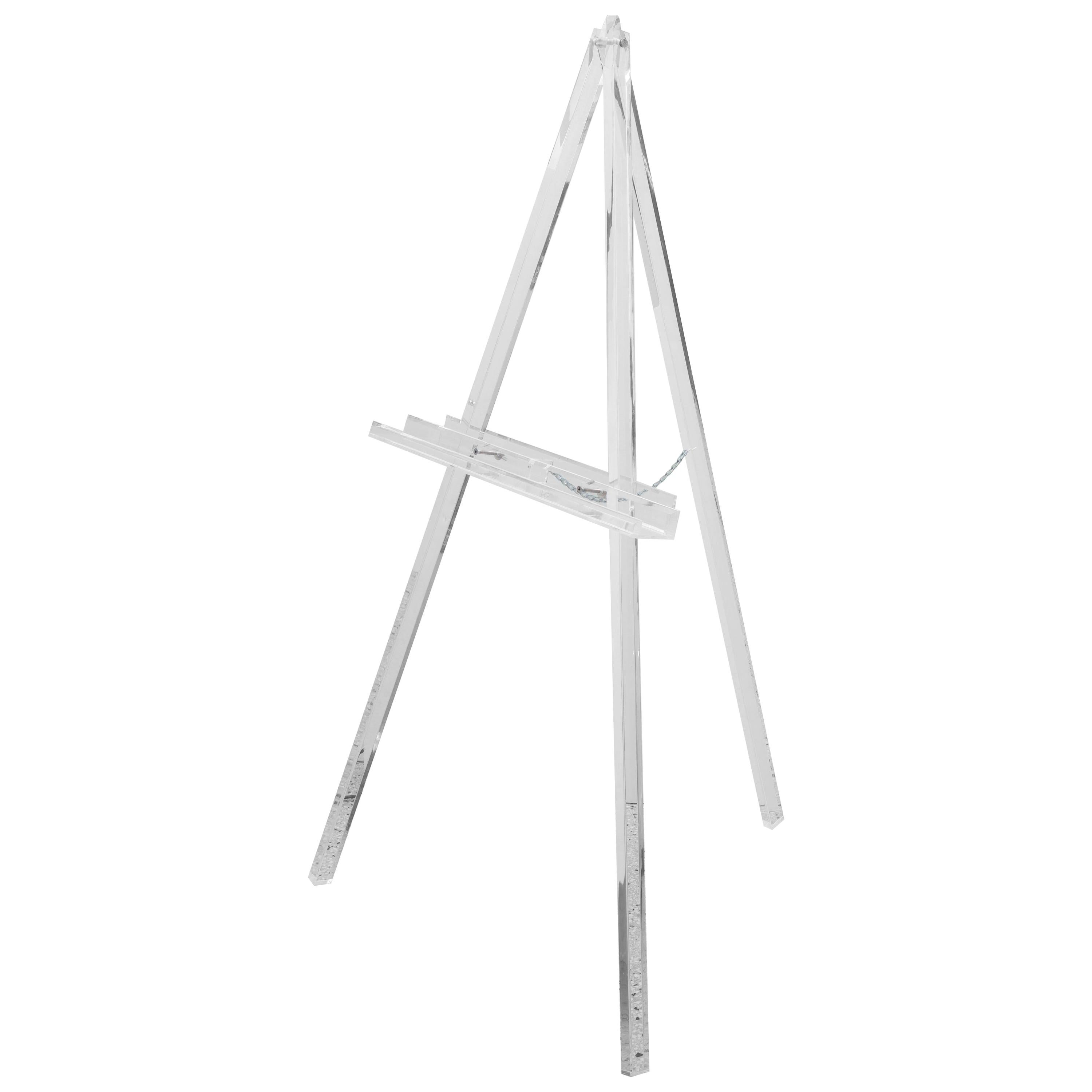 Large Lucite Easel