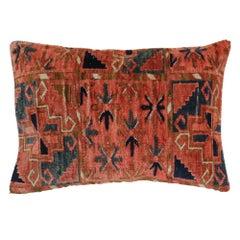 Large Lumbar Turkeman Rug Pillow