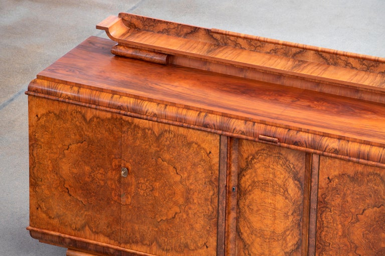 Large & Luxurious French Art Deco Buffet, 1930s For Sale 6