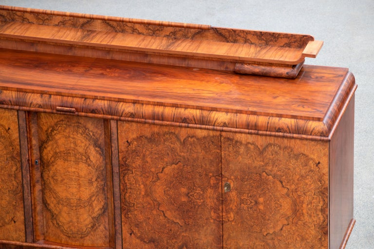 Large & Luxurious French Art Deco Buffet, 1930s For Sale 7
