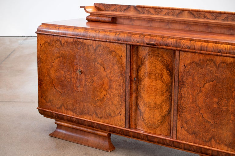 Large & Luxurious French Art Deco Buffet, 1930s For Sale 11