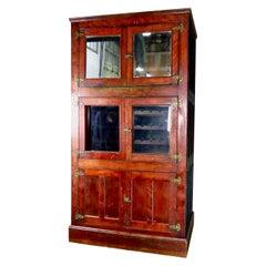 Large Mahogany Storage Cabinet, circa 1860