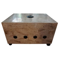 Large Maitland Smith Tessellated Stone Box