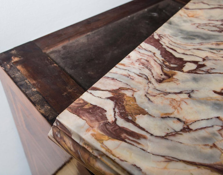 Large Marble Top Continental Commode For Sale 2