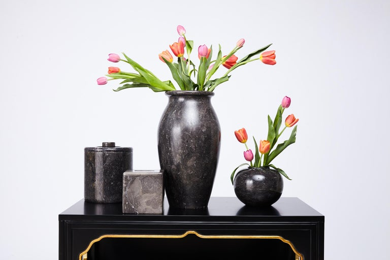 Large Marble Vase by Kelly Wearstler for the Viceroy Miami In Good Condition For Sale In Saint Louis, MO