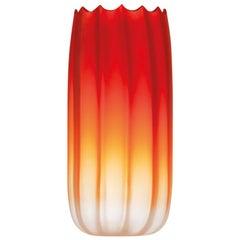 Large Mare Fonda Satinato in Murano Glass by Davide Bruno