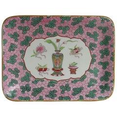 Large Mason's Ashworth Ironstone Tray in Chinese Antiquities Pattern, circa 1870
