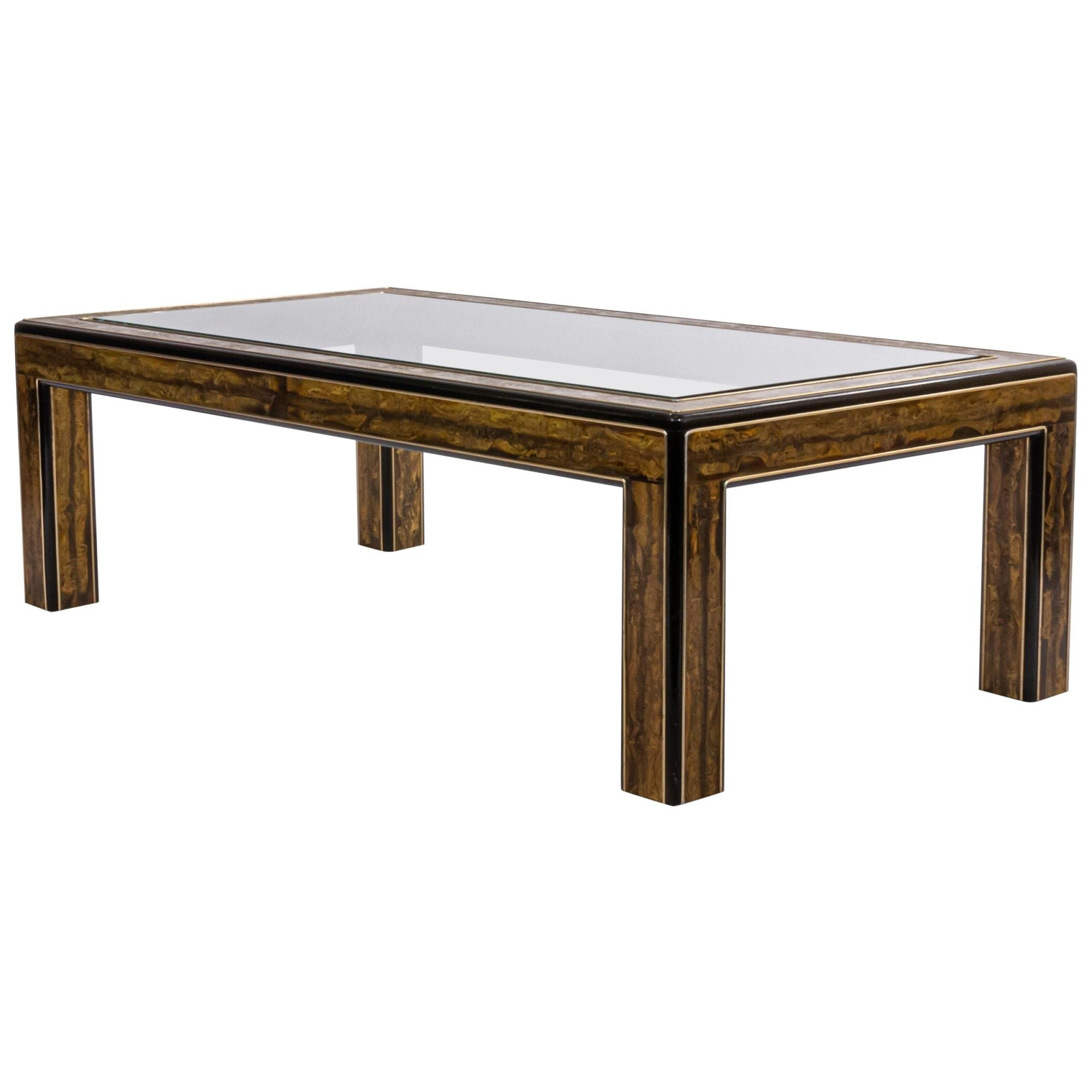Large Mastercraft Rectangular Coffee Table