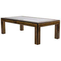Large Mastercraft Rectangular Coffee Table