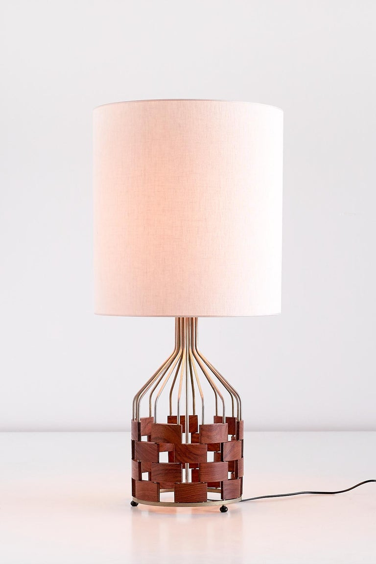 Mid-Century Modern Large Maurizio Tempestini Table Lamp for Casey Fantin, Florence, 1961 For Sale