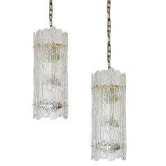 Large Mazzega Murano Pendant Light