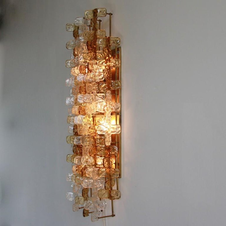Large Mazzega Wall Sconce, 1970s In Good Condition For Sale In Berlin, Berlin