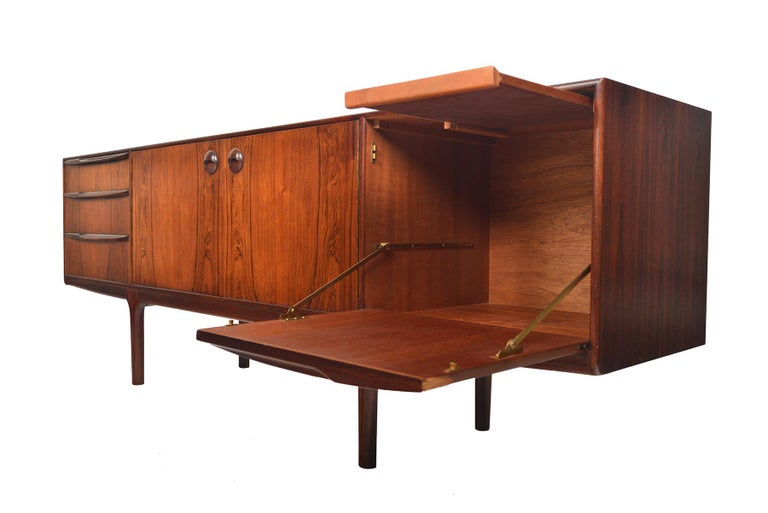 20th Century Large McIntosh Credenza in Brazilian Rosewood