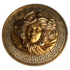 Large Medusa Versace Emblem Wall Sculpture