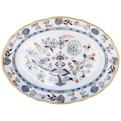 Large Meissen Serving Platter
