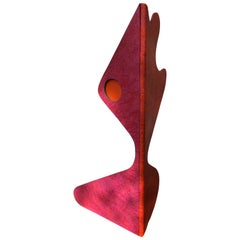 Large Memphis Style Abstract Pop Art Sculpture, Italian, 1980s