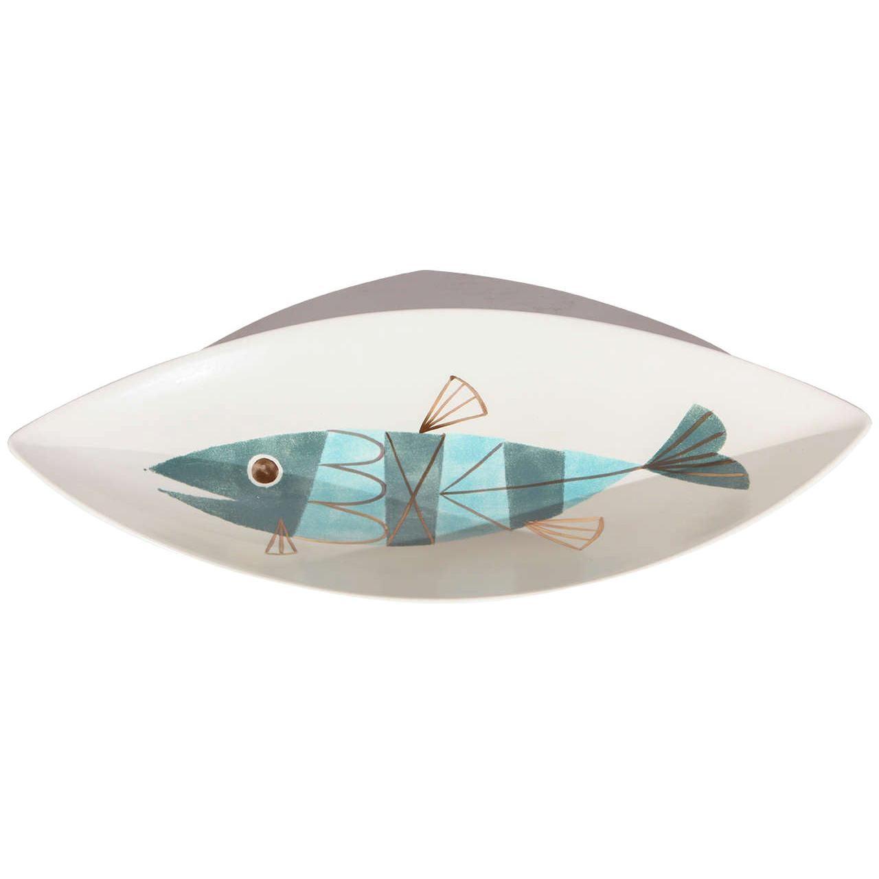 Large Metlox Fish Centerpiece Bowl