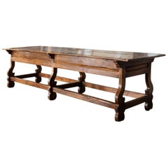 Large Mexican Wood Table