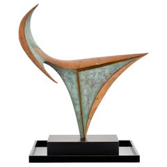 Large Michi Raphael Bronze Sculpture, 1980s