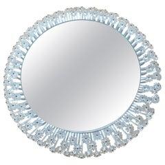 Large Midcentury Backlit Mirror Designed by Emil Stejnar, Rupert Nikoll, 1950s