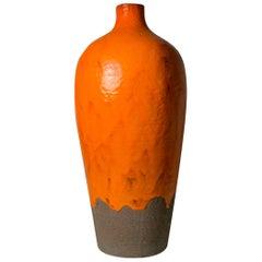 Large Midcentury Italian Ceramic Lamp Attributed to Aldo Londi for Bitossi