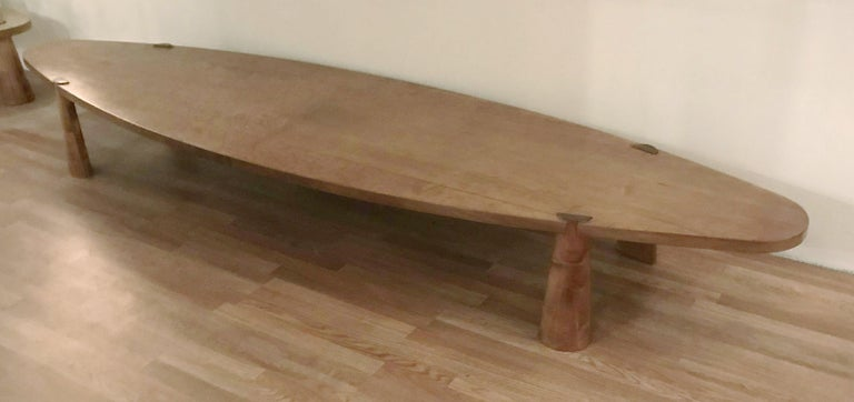 Mid-Century Modern Large Midcentury Italian Wooden Table FINAL CLEARANCE SALE For Sale