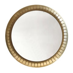Large Mid-Century Modern Backlit Wall Mirror by Hillebrand, 1950s, Germany