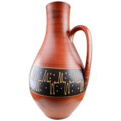 Large Mid-Century Modern Ceramic Vase or Vessel, Austria, 1960s