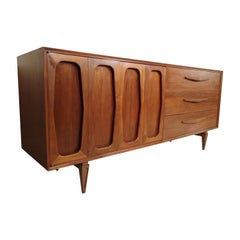 Large Mid-Century Modern Credenza