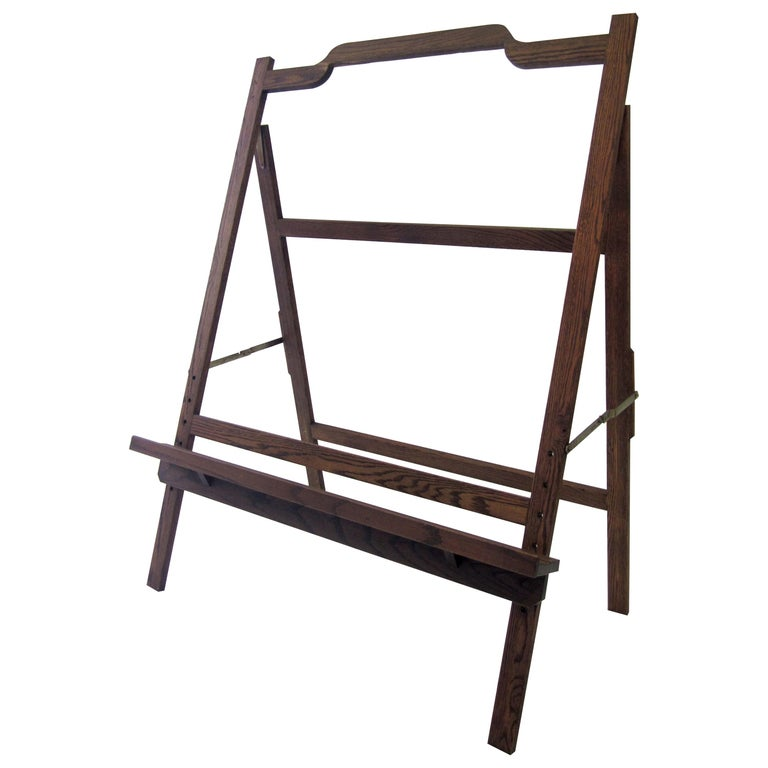 Large Mid-Century Modern Easel For Sale