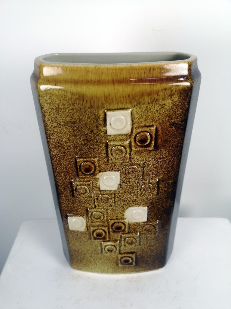 Large, Mid-Century Modern Floor Vase, 1970s In Good Condition For Sale In Budapest, HU