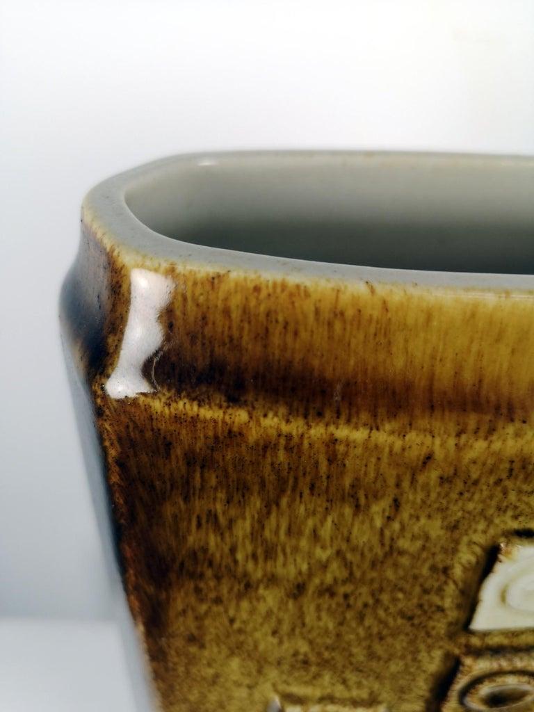 Large, Mid-Century Modern Floor Vase, 1970s For Sale 3
