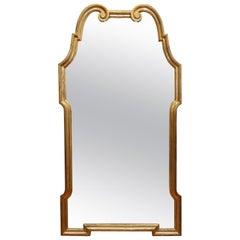 Large Mid-Century Modern Giltwood Mirror