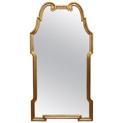 Large Mid-Century Modern Giltwood Mirror