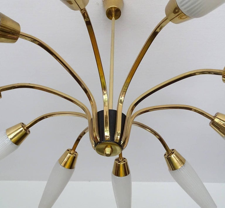 Large Italian Sputnik Chandelier For Sale 10