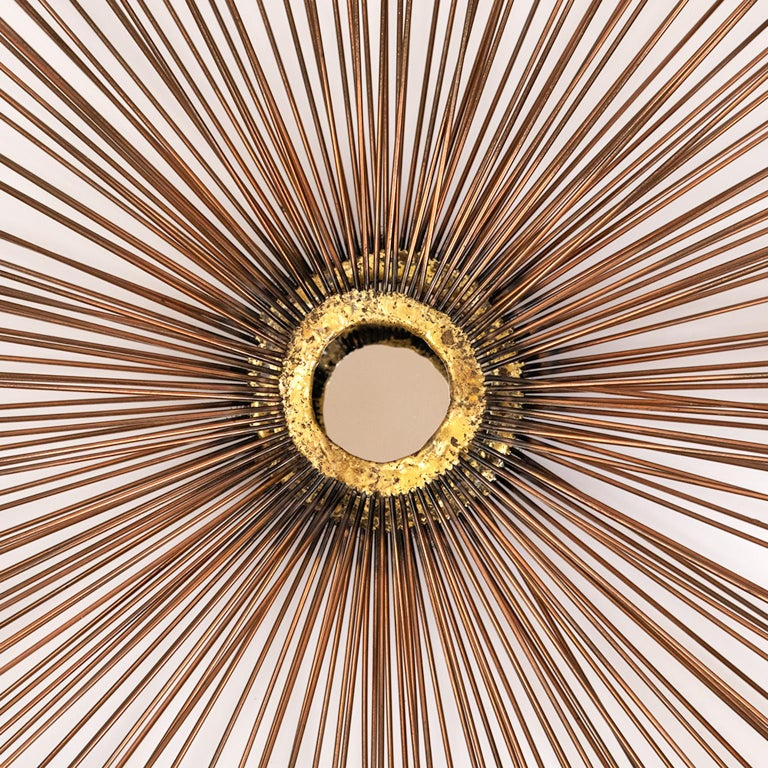 This is the largest sunburst/starburst wall art sculpture that I have had for sale. It is 40