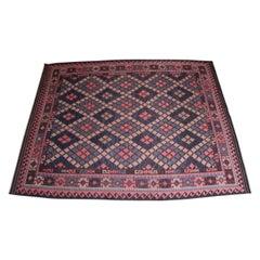 Large Midcentury Moroccan Kilim Rug