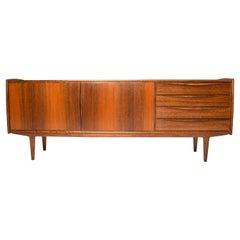 Large Mid Century Teak Scandinavian Modern Style Sideboard, Spain 1960
