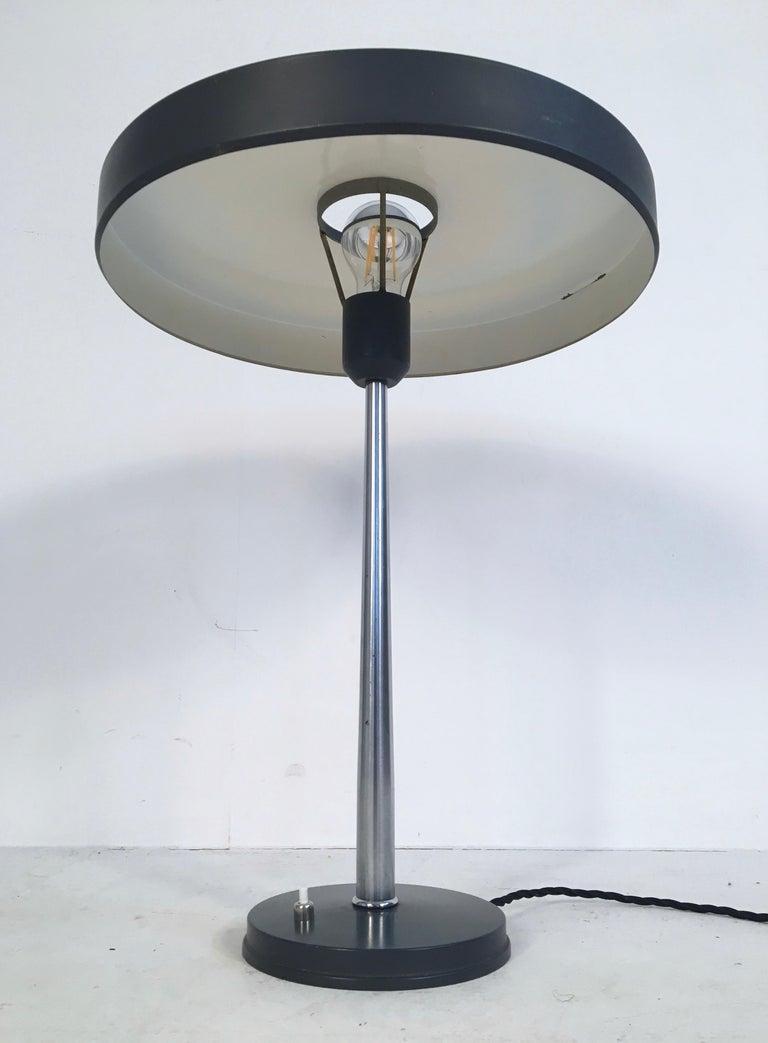 Dutch Large Midcentury 'Timor' Desk Lamp, L. Kalff for Philips Netherlands, circa 1950 For Sale