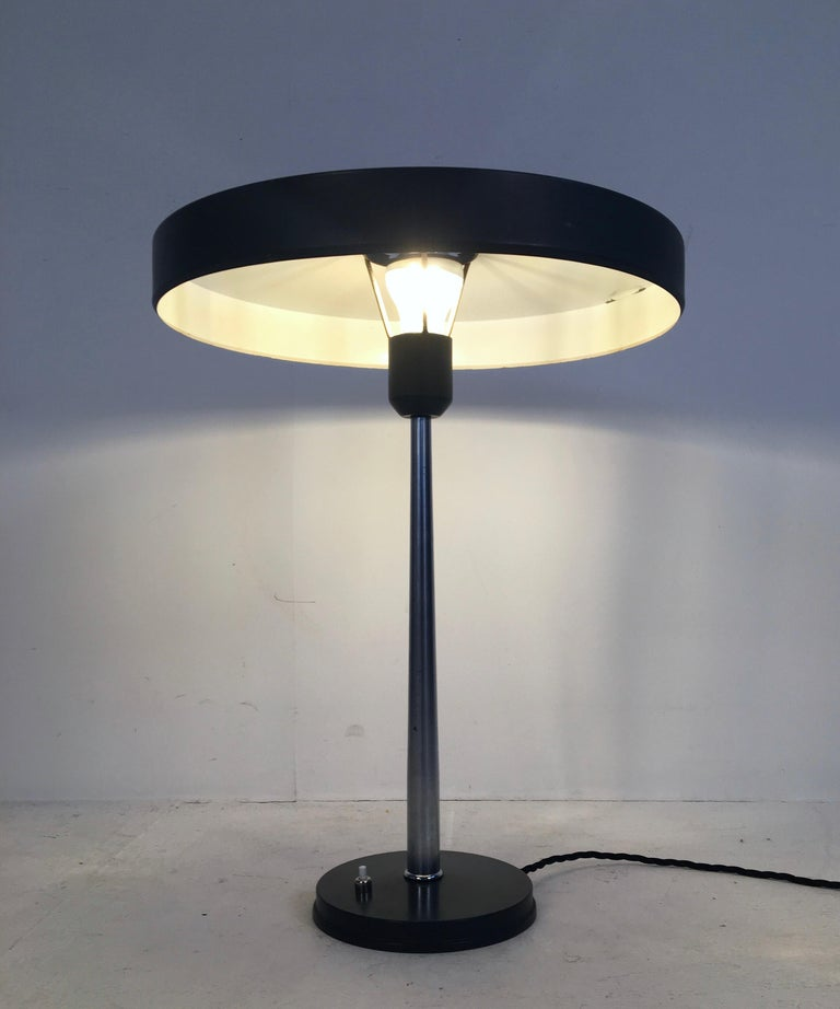 Mid-20th Century Large Midcentury 'Timor' Desk Lamp, L. Kalff for Philips Netherlands, circa 1950 For Sale