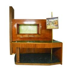 Large Midcentury Bar Cabinet by Osvaldo Borsani from 1950s