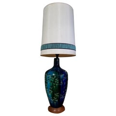 Large Midcentury Ceramic Table Lamp